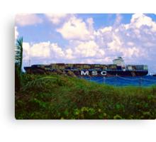 MV MSC Flaminia Canvas Print