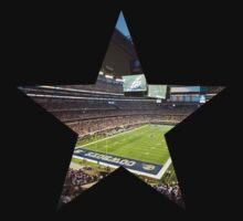 Dallas Cowboys Stadium Color by Josh Eisenmann