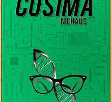 Orphan Black minimalist  - Cosima Niehaus by hannahnicole420
