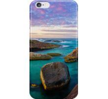 Sunrise at Elephant Rocks, Denmark iPhone Case/Skin