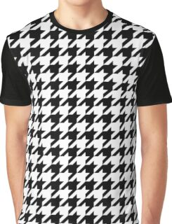 Classic houndstooth pattern Dogstooth check design Graphic T-Shirt