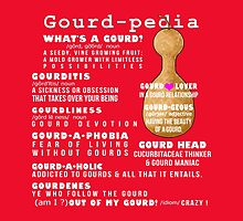 Gourd-pedia What's a Gourd Totes and Pillows Color 3 by Subwaysign