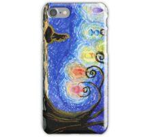 Black Kitty Haunted Tree iPhone Case/Skin