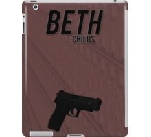 Orphan Black minimalist - Beth Childs iPad Case/Skin