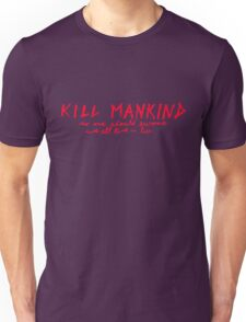 Mankind Red Unisex T-Shirt