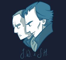 Duo of 221B Baker Street by ronairis