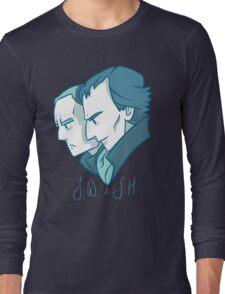 Duo of 221B Baker Street Long Sleeve T-Shirt