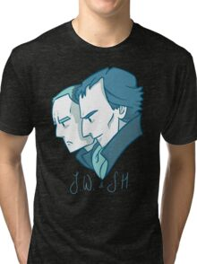 Duo of 221B Baker Street Tri-blend T-Shirt