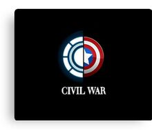 civil war Canvas Print