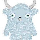 Yeti Monster by alphabetty