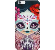 Amelia Calavera - Sugar Skull iPhone Case/Skin