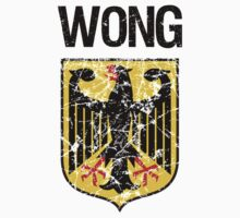 Wong Surname German Kids Clothes