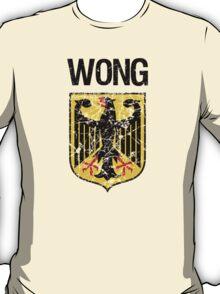 Wong Surname German T-Shirt