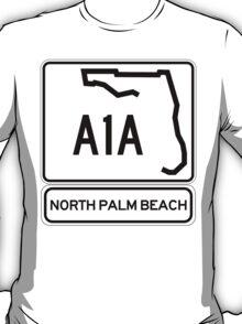 A1A - North Palm Beach T-Shirt