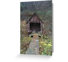Old Spring House Greeting Card