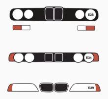 BMW 5 Series (E28, E34, E39) by ApexFibers
