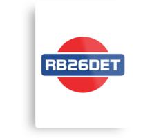 RB26DET Nissan Engine Metal Print