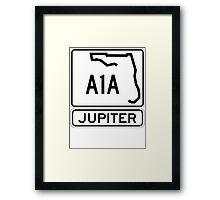 A1A - Jupiter Framed Print