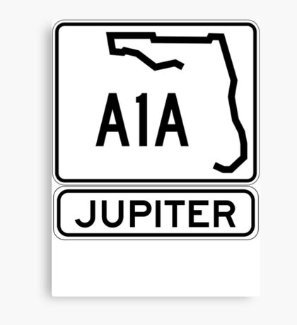 A1A - Jupiter Canvas Print