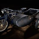 an ACE motorcycle outfit by Frank Kletschkus