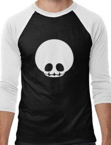 Toad Skull - White Men's Baseball ¾ T-Shirt