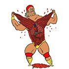 Hulk Hogan Cartoon by TruthtoFiction