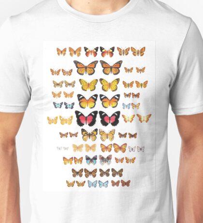 Australian Butterfly Collection Unisex T-Shirt