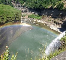 Intersections, Letchworth State Park by TFRICE