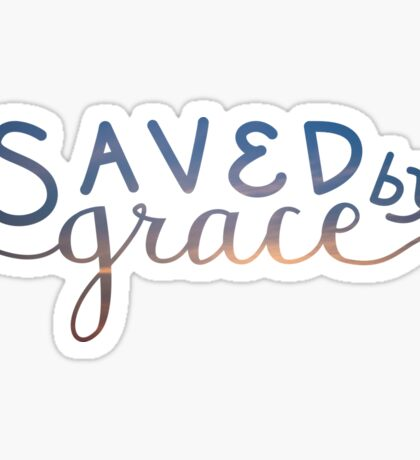 Saved by Grace Sticker