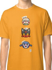 Alola starters  Classic T-Shirt