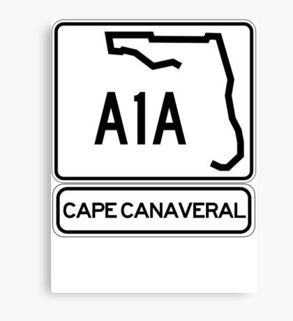 A1A - Cape Canaveral Canvas Print