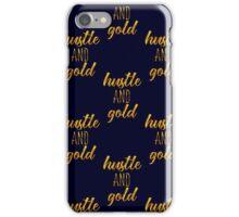 Hustle&Gold 10 iPhone Case/Skin