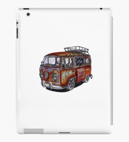 VW Type 2 Bay Window - Rust Series - Jules iPad Case/Skin