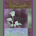 My Thoughts Are With You - Card  by Sandra Foster