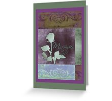 My Thoughts Are With You - Card  Greeting Card