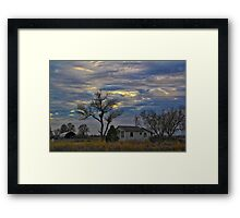 All Is Quiet in the Country Framed Print