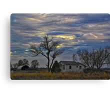 All Is Quiet in the Country Canvas Print