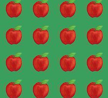 Crisp Red Apples by joyfulroots