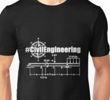 Civil engineer badass dictionary term Unisex T-Shirt