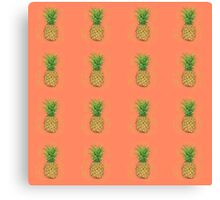 Pineapples and Pina Coladas Canvas Print