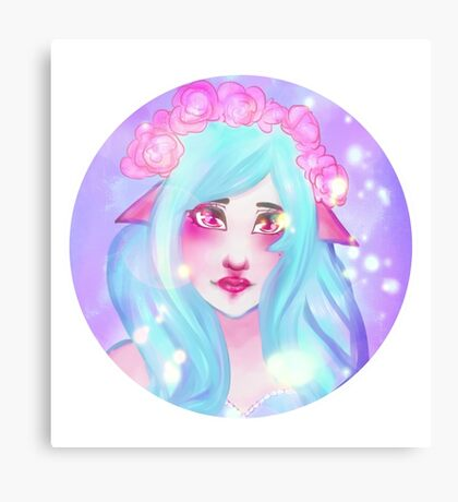 Pastel elf Canvas Print