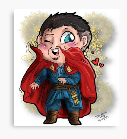 Doctor Strange - A loving cape Canvas Print