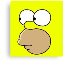 Homer Simpsons Canvas Print