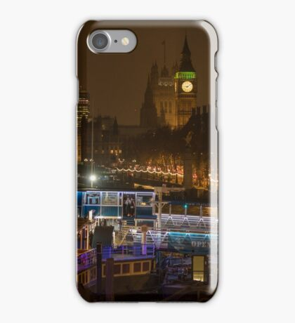 Big Ben and Boats iPhone Case/Skin