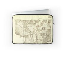 USGS TOPO Map California CA Shasta Valley Sheet No 8 295164 1922 24000 geo Laptop Sleeve
