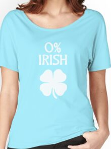 Irish 0% St. Patrick's Day Women's Relaxed Fit T-Shirt