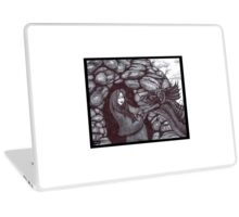 The Girl and the Baby Dragon Laptop Skin