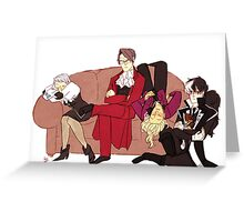The Prosecution Rests Greeting Card