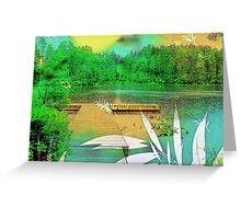 There Is This Lake  Greeting Card