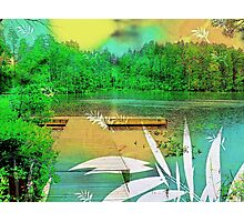 There Is This Lake  Photographic Print